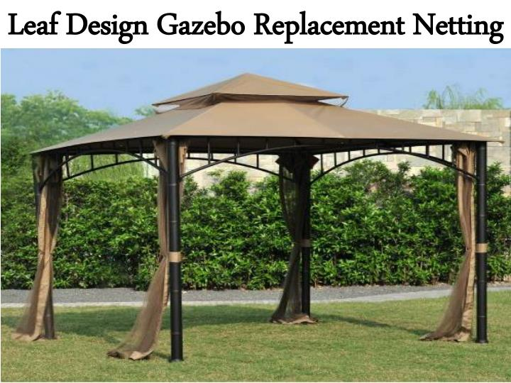 Leaf Design Gazebo Replacement Netting