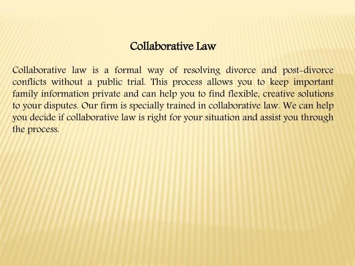 Collaborative