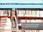 bus 370 tutors innovative education16
