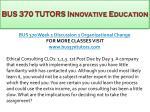 bus 370 tutors innovative education3