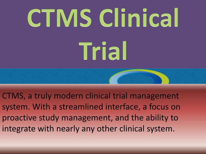 CTMS Clinical Trial