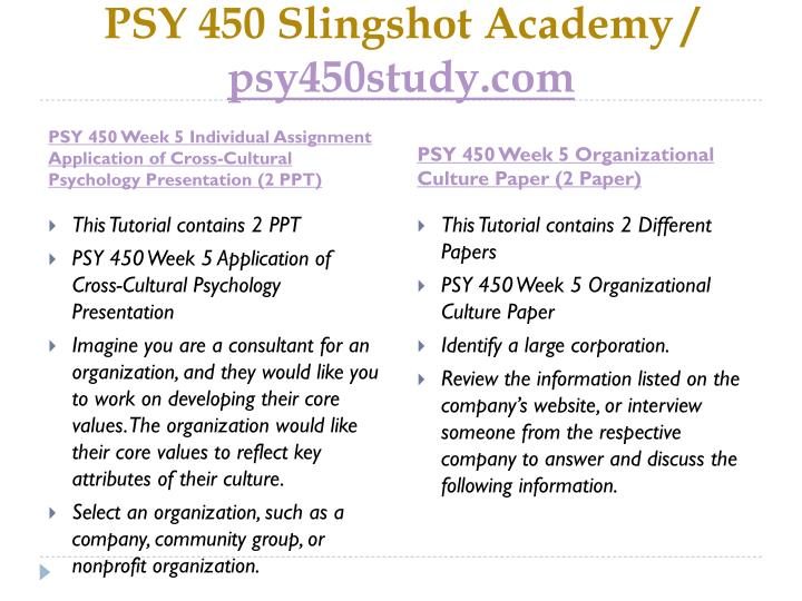 application of cross cultural psychology presentation View homework help - application of cross-cultural psychology presentation from psychology psy 435 at university of phoenix application of cross-cultural psychology presentation cl eavonni maxwel.