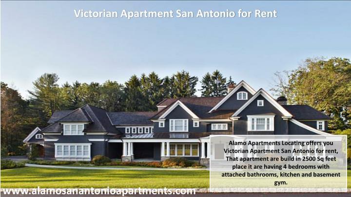 Victorian Apartment San Antonio for Rent