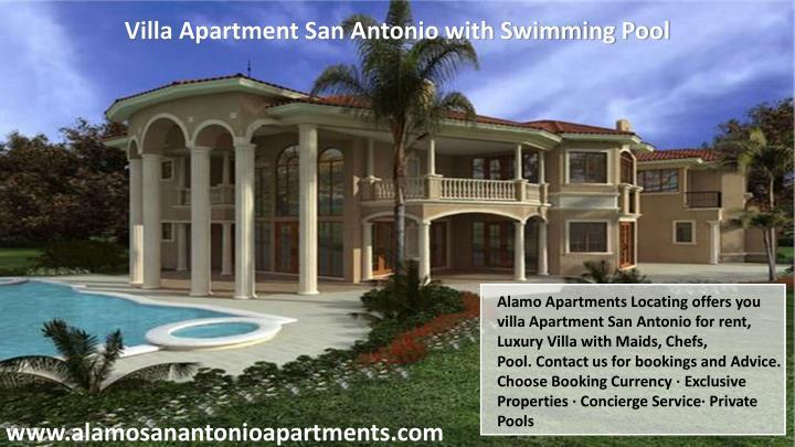 Villa Apartment San Antonio with Swimming Pool