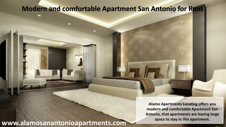 Modern and comfortable Apartment San Antonio for Rent