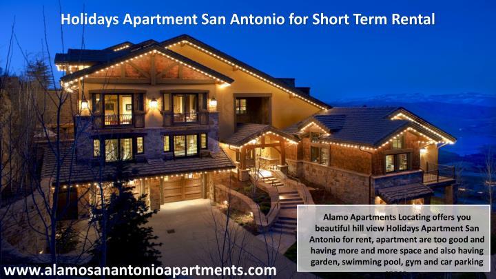 Holidays Apartment San Antonio for