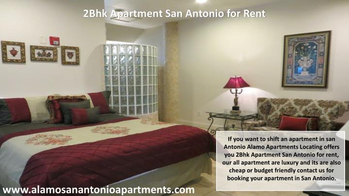 2Bhk Apartment San Antonio for Rent