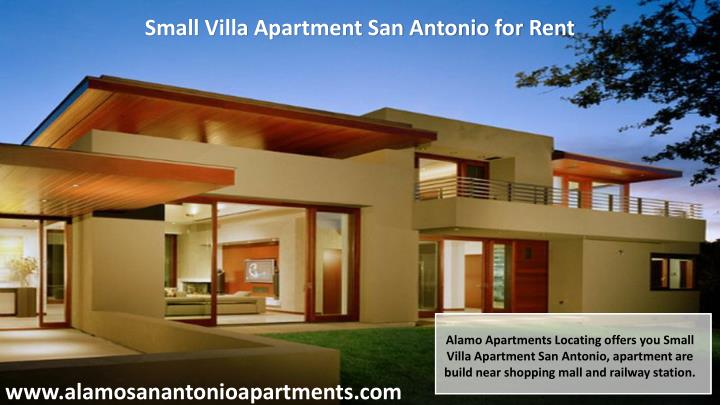 Small Villa Apartment San Antonio for Rent