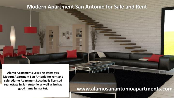 Modern Apartment San Antonio for Sale and Rent
