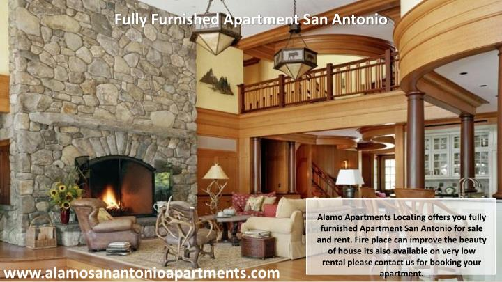 Fully Furnished Apartment San Antonio