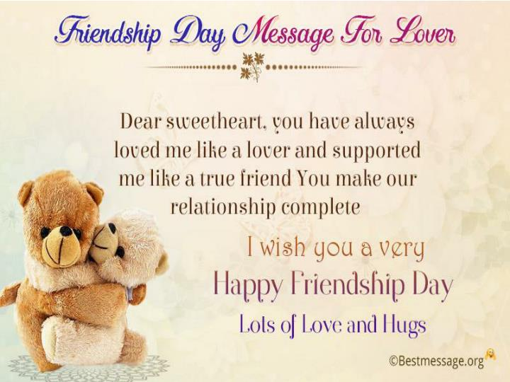 Happy friendship day 2016 wishes friendship love messages