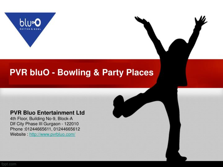 Pvr bluo bowling party places