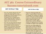 acc 562 course extraordinary success tutorialrank com6