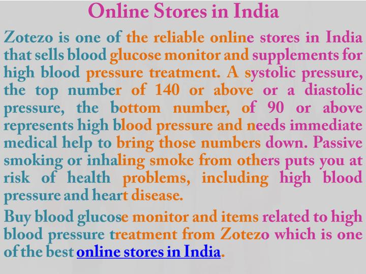 Online Stores in India
