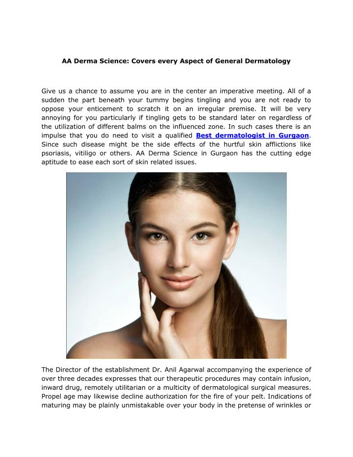 AA Derma Science: Covers every Aspect of General Dermatology