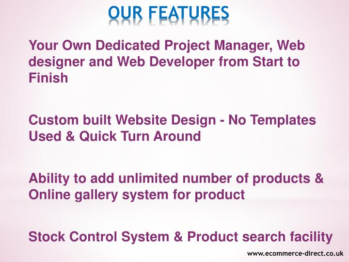Your Own Dedicated Project Manager, Web designer and Web Developer from Start to Finish