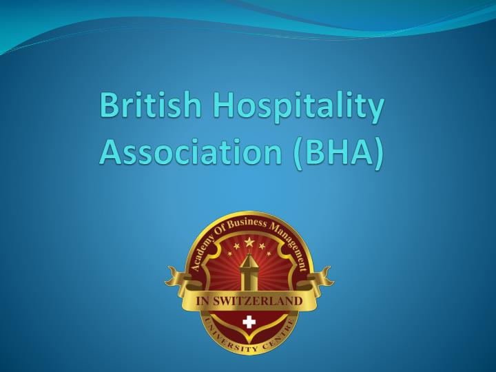 British hospitality association bha