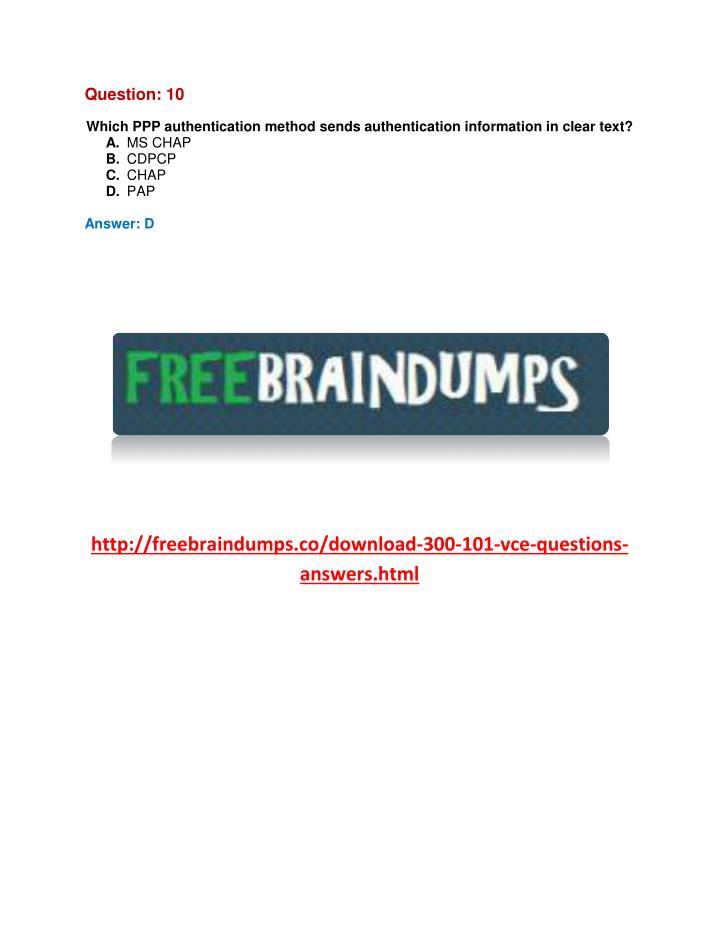 Question: 10