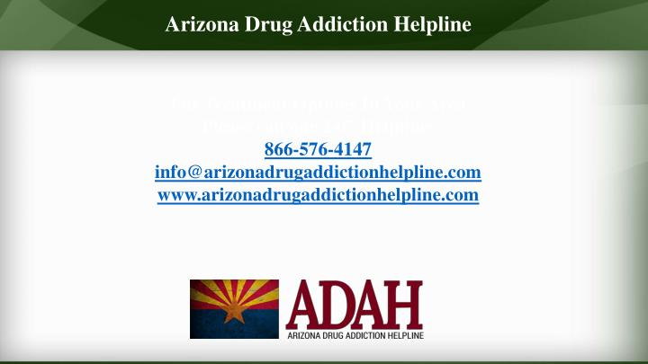 Arizona DrugAddiction Helpline