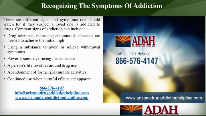 Recognizing The Symptoms Of Addiction
