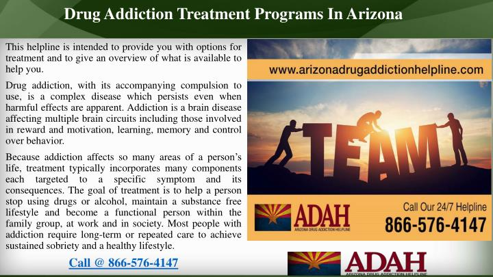 Drug Addiction Treatment Programs In Arizona
