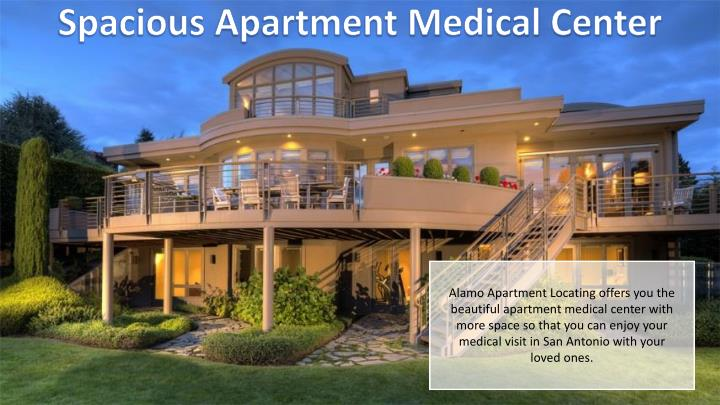 Spacious Apartment Medical Center