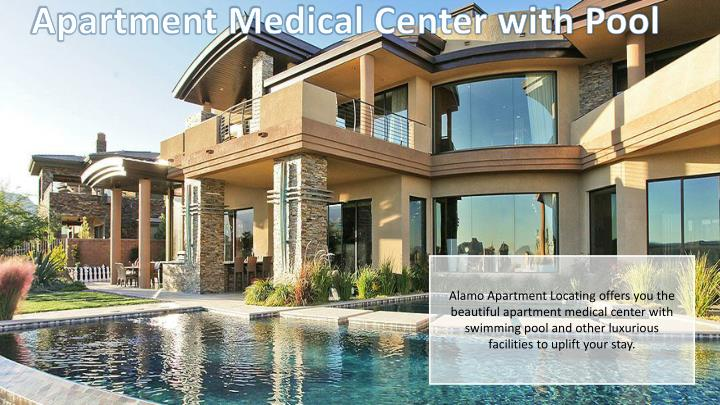 Apartment Medical Center with Pool