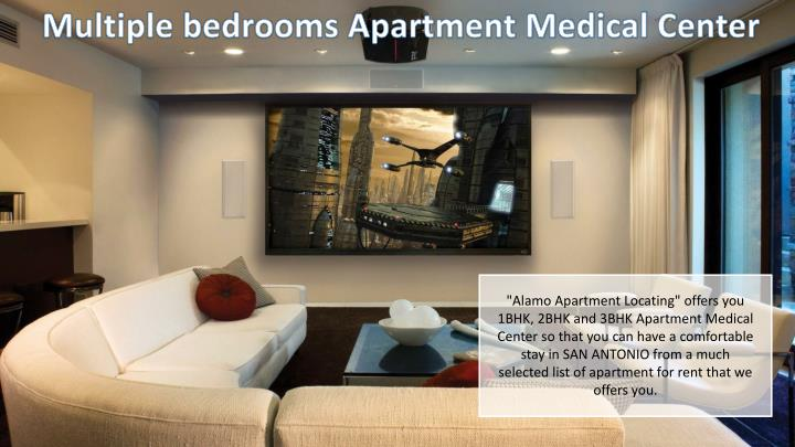 Multiple bedrooms Apartment Medical Center