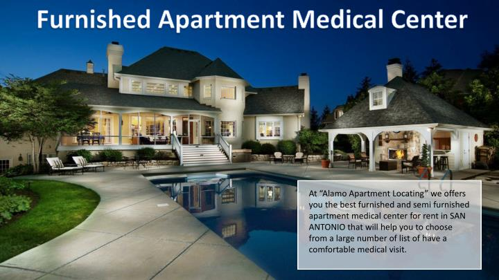 Furnished Apartment Medical Center