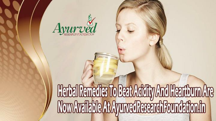 Herbal remedies to beat acidity and heartburn are now available at ayurvedresearchfoundation in