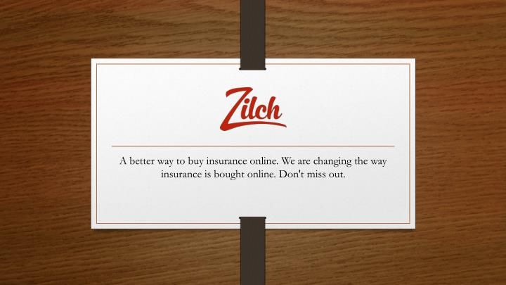 A better way to buy insurance online. We are changing the way insurance is bought online. Don't miss...