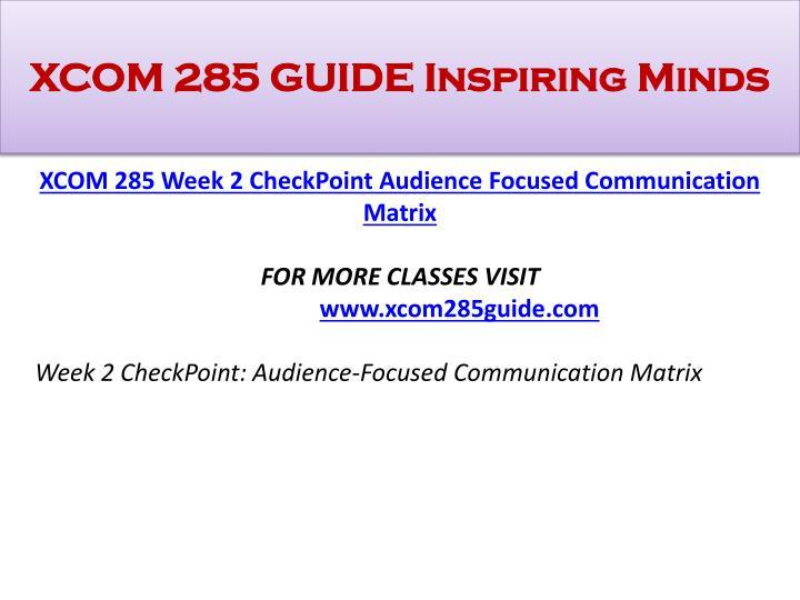 xcom 285 technology trendy communication checkpoint Click below url to purchase homework  xcom 285 uop homework,xcom 285 uop tutorial,xcom 285 uop assignme.