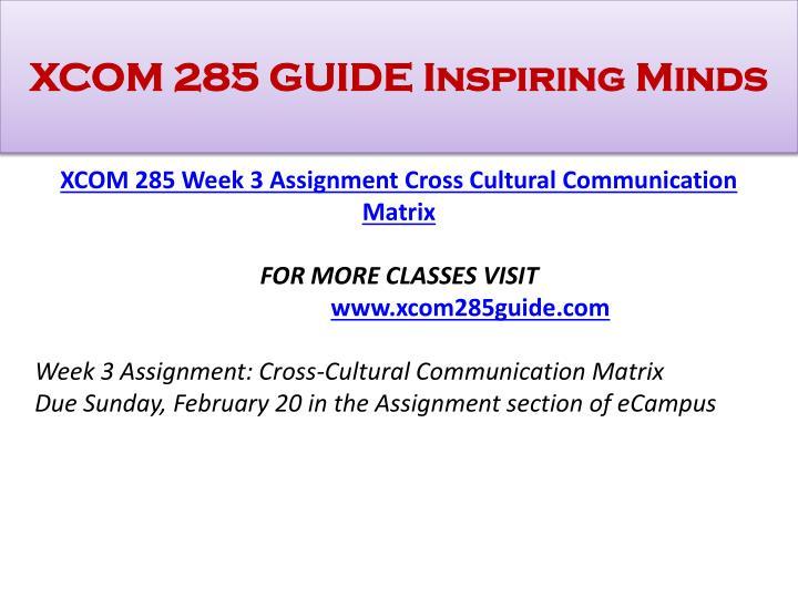 xcom week 1 business communication trends Abstract xcom 285 week 1 checkpoint technology trendy communication xcom 285 week 1 assignment business communication trends xcom 285 week 2.