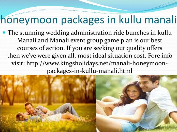 honeymoon packages in