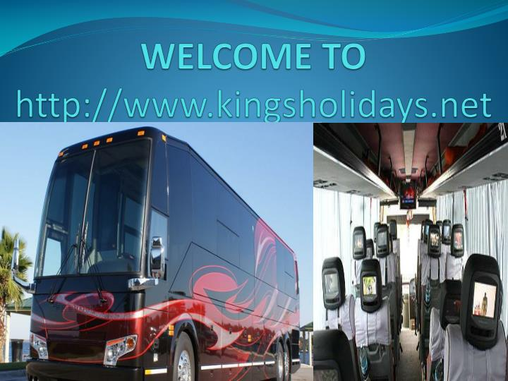 Welcome to http www kingsholidays net