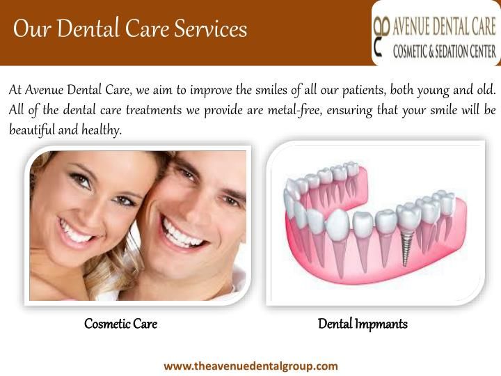 Our Dental Care Services