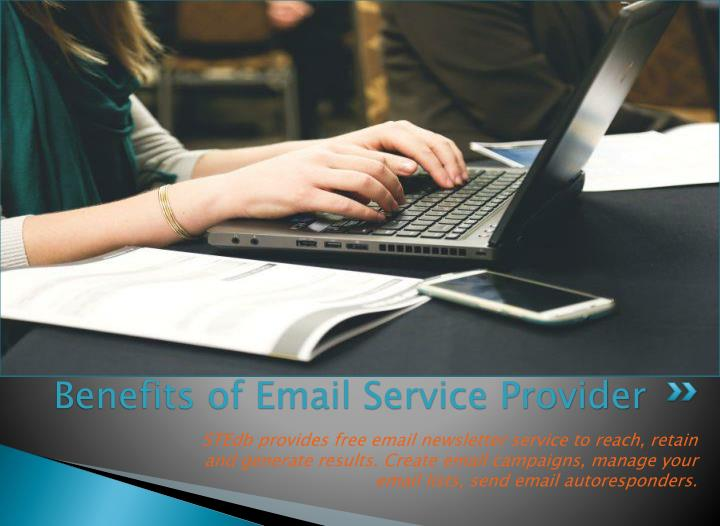 Benefits of email service provider1