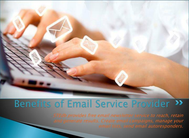 Benefits of email service provider2