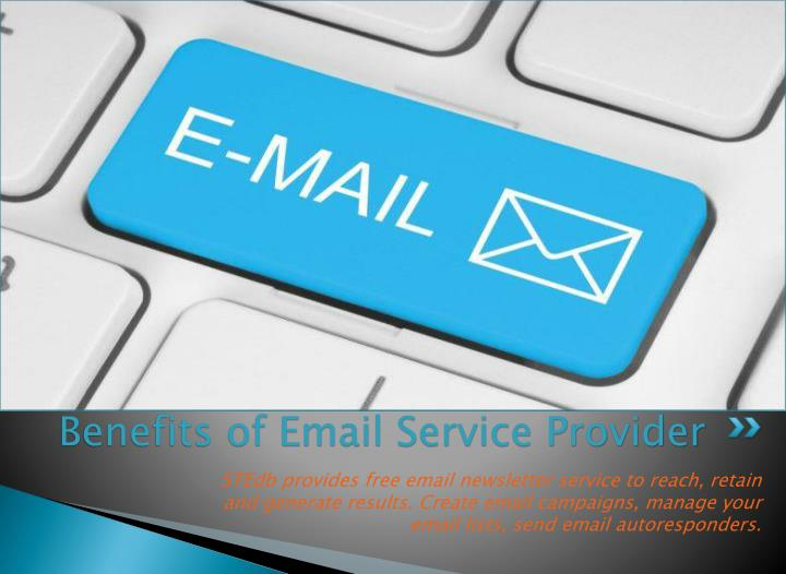 Benefits of Email Service Provider