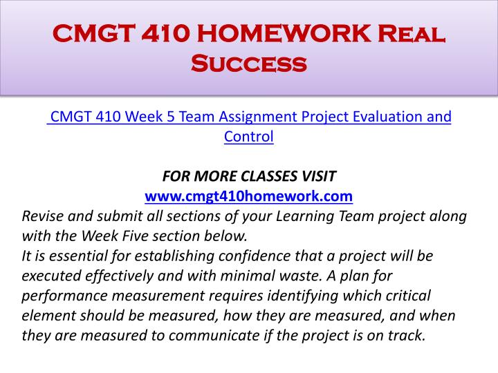 cmgt 410 week 4 learning team project costing Week 4 cmgt/410 learning team: project costing the allocation and cost of resources need to be carefully monitored if a project is to be delivered on-time and on-budget.