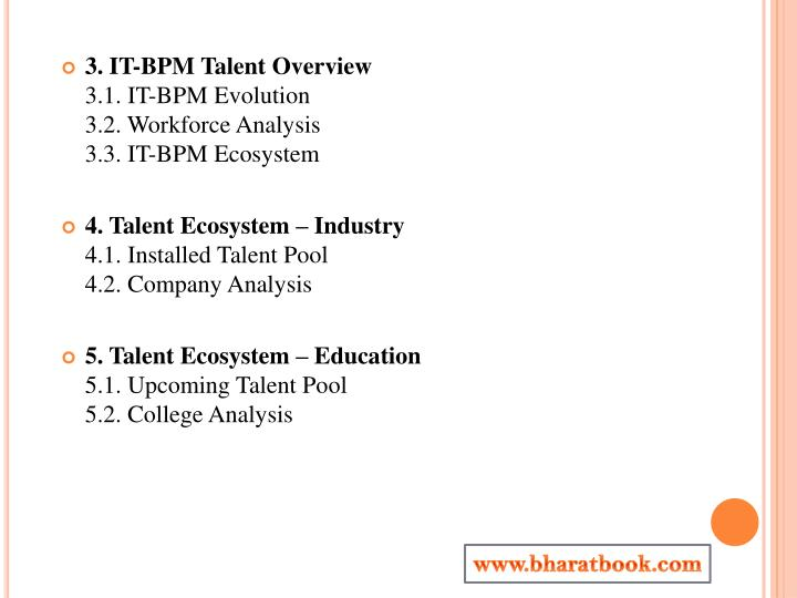 3. IT-BPM Talent Overview