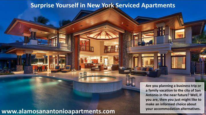 Surprise Yourself in New York Serviced Apartments