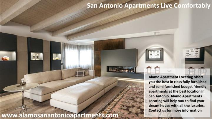 San Antonio Apartments Live Comfortably