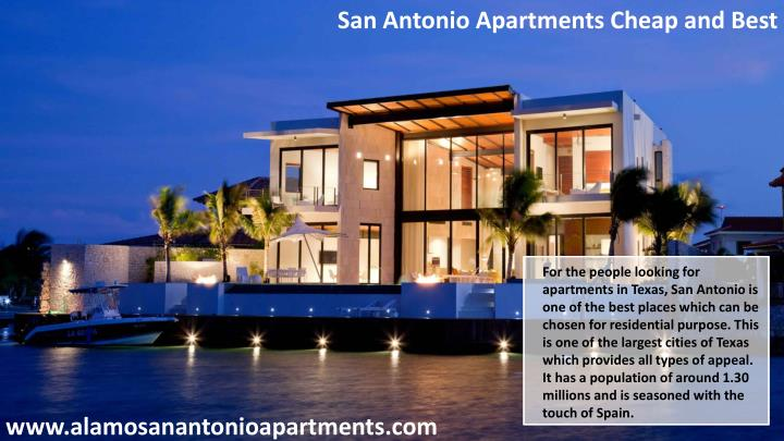 San Antonio Apartments Cheap and Best