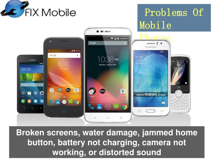 Problems Of Mobile Phones