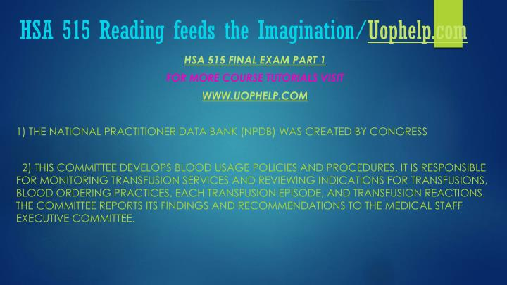 Hsa 515 reading feeds the imagination uophelp com2