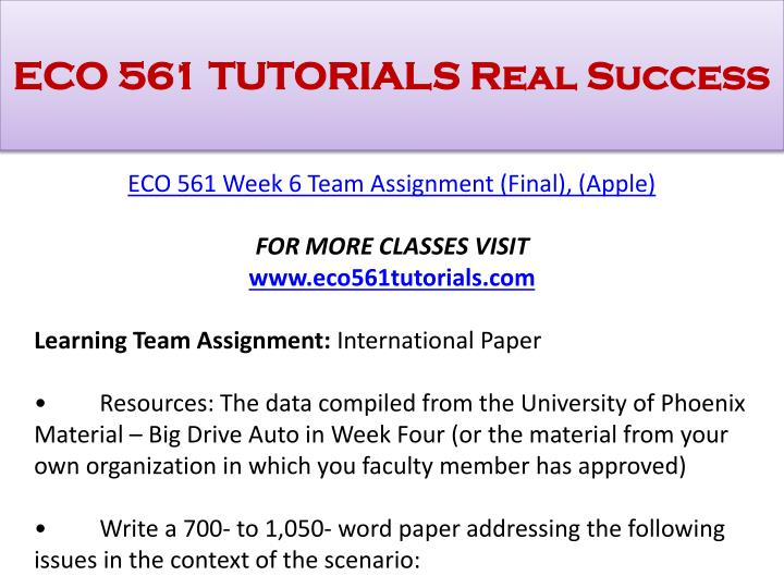 eco 561 week 2 quiz university of phoenix View test prep - eco 561 week 2, quiz from eco 561 at university of phoenix eco561 week 2, quiz 1 purely competitive firms increase total revenue by a increasing.