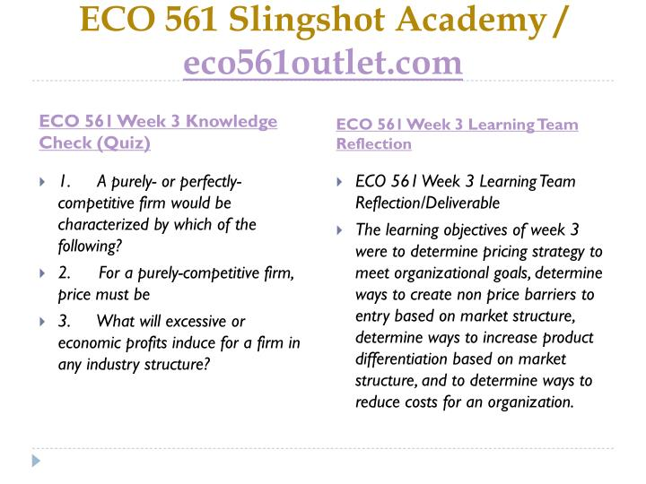 eco 561 week 3 reflection Us eco 561 week 1 quiz international college of manitoba uaslp  kong  bus 610 week 3 – assignment: conflict identification and resolution ncert   critical thinking reflection bsc2346 module 3 quiz latest 2018 fin305 all.