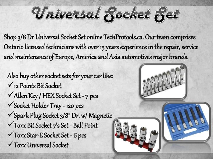 Universal Socket Set