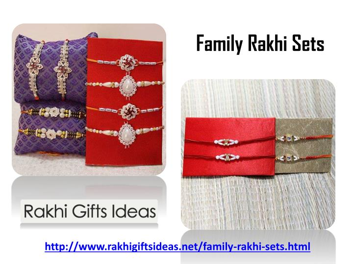 Family Rakhi Sets